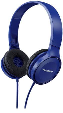 Panasonic słuchawki nauszne RP-HF100E, niebieski