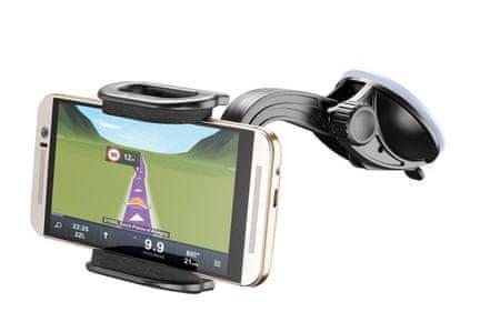 CellularLine univerzalni auto nosač za telefone Big Crab, dvostruko pričvršćivanje