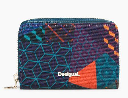 28d2fb0ef4d3 Desigual Magnetic Erika színes női pénztárca | MALL.HU