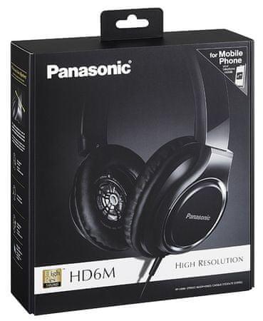 PANASONIC RP HD6ME K, fekete