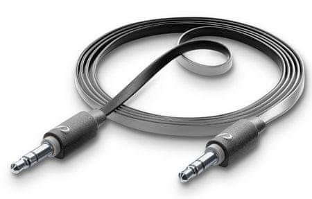 CellularLine audio kabel 3,5 mm, crni