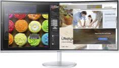SAMSUNG C34F791 Ívelt LED Monitor (LC34F791WQUXEN)