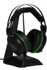 Razer słuchawki bezprzewodowe Thresher Ultimate pro Xbox One, czarne/zielone (RZ04-01480100-R3G1)
