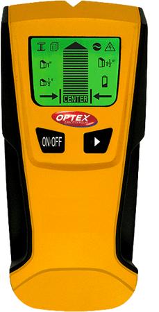 Optex Digitális fémdetektor, fa detektor és AC vezeték DET-06