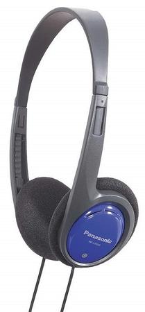 PANASONIC RP-HT010E-A Fejhallgató, Kék