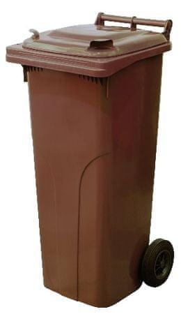 M.A.T Group zabojnik za odpadke 240l PH, rjav