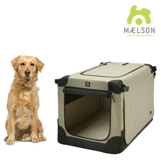 Maelson Přepravka Soft Kennel černá / béžová vel. 92 - rozbaleno