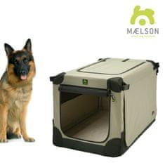 Maelson Soft Kennel transporter, črn/bež