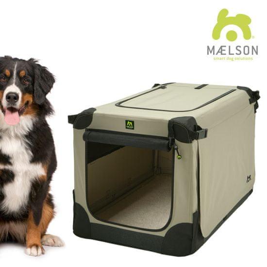 Maelson Přepravka Soft Kennel černá / béžová vel. 120 - rozbaleno