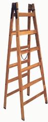 M.A.T Group drabina techniczna 6 st. 1,9m drewniana