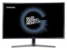 """SAMSUNG 27"""" C27HG70 QLED Gaming monitor Metal Quantum dot technológiával  (LC27HG70QQUXEN)"""