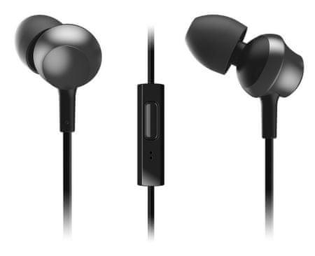 Panasonic słuchawki douszne RP-TCM360E-K, czarny
