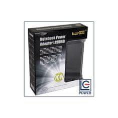 LC Power univerzalni napajalnik za prenosnik LC90NB, 90W, 19V