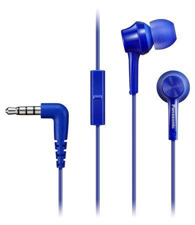 Panasonic slušalke RP-TCM105E-A, modre
