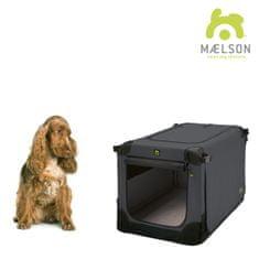 Maelson Soft Kennel Szállítódoboz, Fekete/Antracit