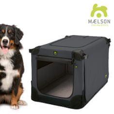Maelson Přepravka Soft Kennel černá / antracitová 7 - rozbaleno