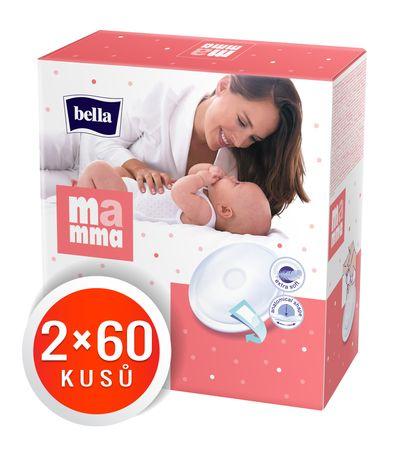 Bella Prsné vložky Mamma, 2x60 ks