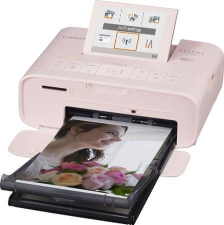 Canon prijenosni foto pisač CP1300 Selphy, rozi