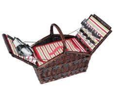 Cilio Kosz piknikowy COMO brązowy (155105)
