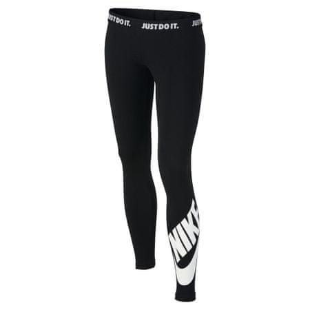 Nike legginsy sportowe G NSW LEG A SEE LGGNG LOGO Black/white XL