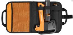 Fiskars zestaw campingowy (siekiera X5, ostrzałka, nóż)
