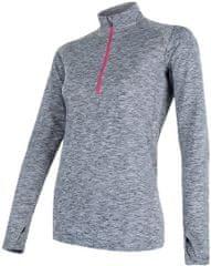 Sensor Motion dámské triko dl.rukáv zip