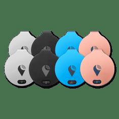 TrackR bravo - 8-Pack - 2x černý / 2x stříbrný / 2x modrý / 2x Rose Gold
