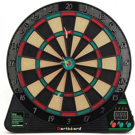 Teddies elektroniczna tarcza do gry w rzutki 42 cm + 6 rzutek