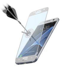 CellularLine zaščitno steklo Capsule za Samsung Galaxy S7, belo