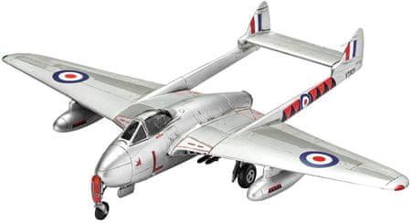 REVELL ModelKit repülőgép 03934 - Vampire F Mk.3 (1:72)