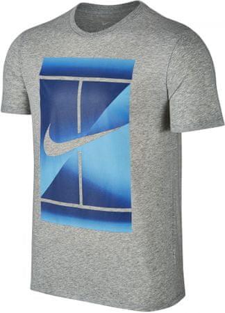 Nike M NK DRY TEE DBL šedá M - rozbaleno
