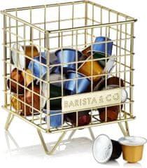 BARISTA&CO zásobník na kávové kapsle Electric Gold