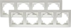 Retlux ramka poczwórna do przełączników Shop RSD A04 Amy