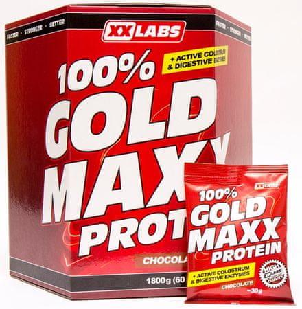 XXlabs 100% Gold Maxx Protein 1800g Mix příchutí