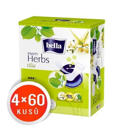 Bella wkładki higieniczne Panty Herbs Tilia 240 szt