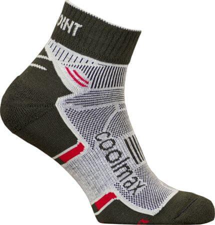High Point skarpety sportowe Active 2.0 Socks Black/Red 35-38