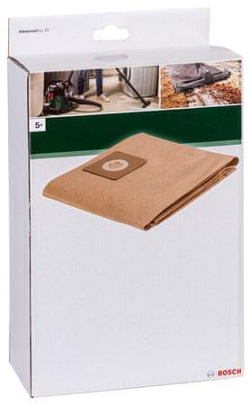 4d0bd04a8 Bosch Papierové vrecko na prach pre Vac20,5 ks | MALL.SK