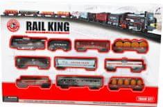 Mac Toys Vlaková súprava väčšia - Rail King
