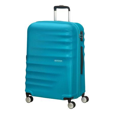 American Tourister kovček Wavebraker, spinner 67 cm, turkizen