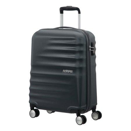 American Tourister kovček Wavebraker, spinner 55 cm, črn