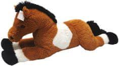Mac Toys Kôň bielo/hnedý 80 cm
