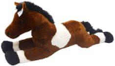 Mac Toys Kůň bílo/tmavě hnědý 80 cm