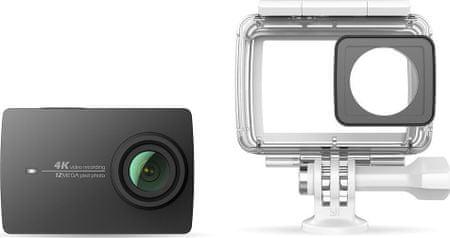 Yi 4K Action Camera 2 Waterproof Set Black