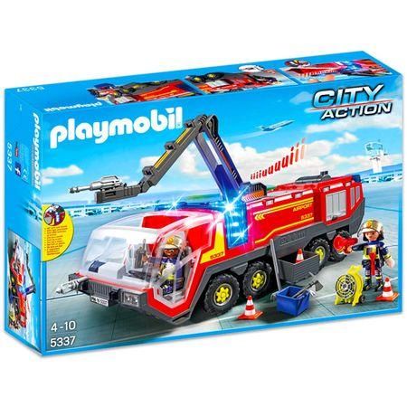 Playmobil zrakoplovni vatrogasni kamion s svjetlima i zvukom 5337