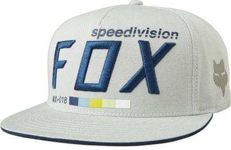FOX pánská snapback kšiltovka Draftr UNI sivá
