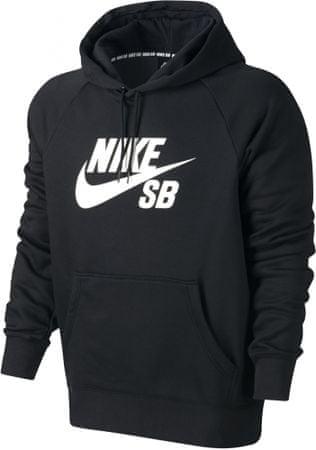 Nike SB Icon PO Hoodie Black/White S
