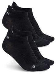 Craft Skarpety Shaftless 2-pack Black