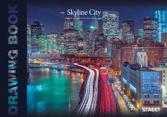 Street blok za crtanje City Skyline, A3, 20 listov