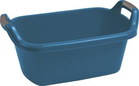 CURVER owalna miska, 35 l, niebieska