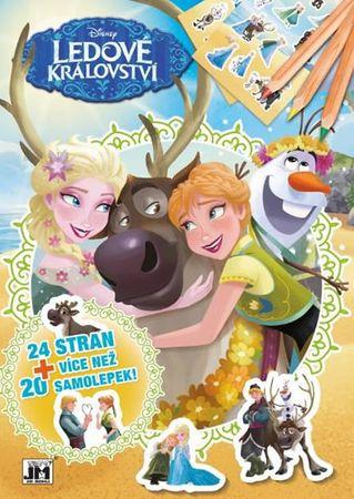 Ledové království - Cvičebnice A4+